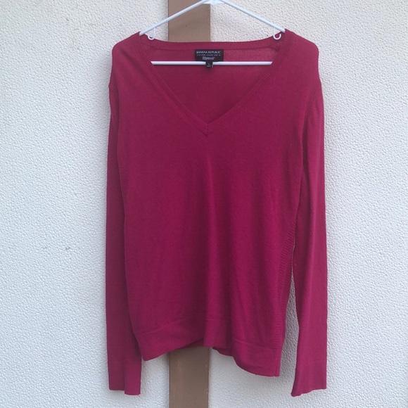Banana Republic Sweaters - Banana Republic Pink Wool Sweater